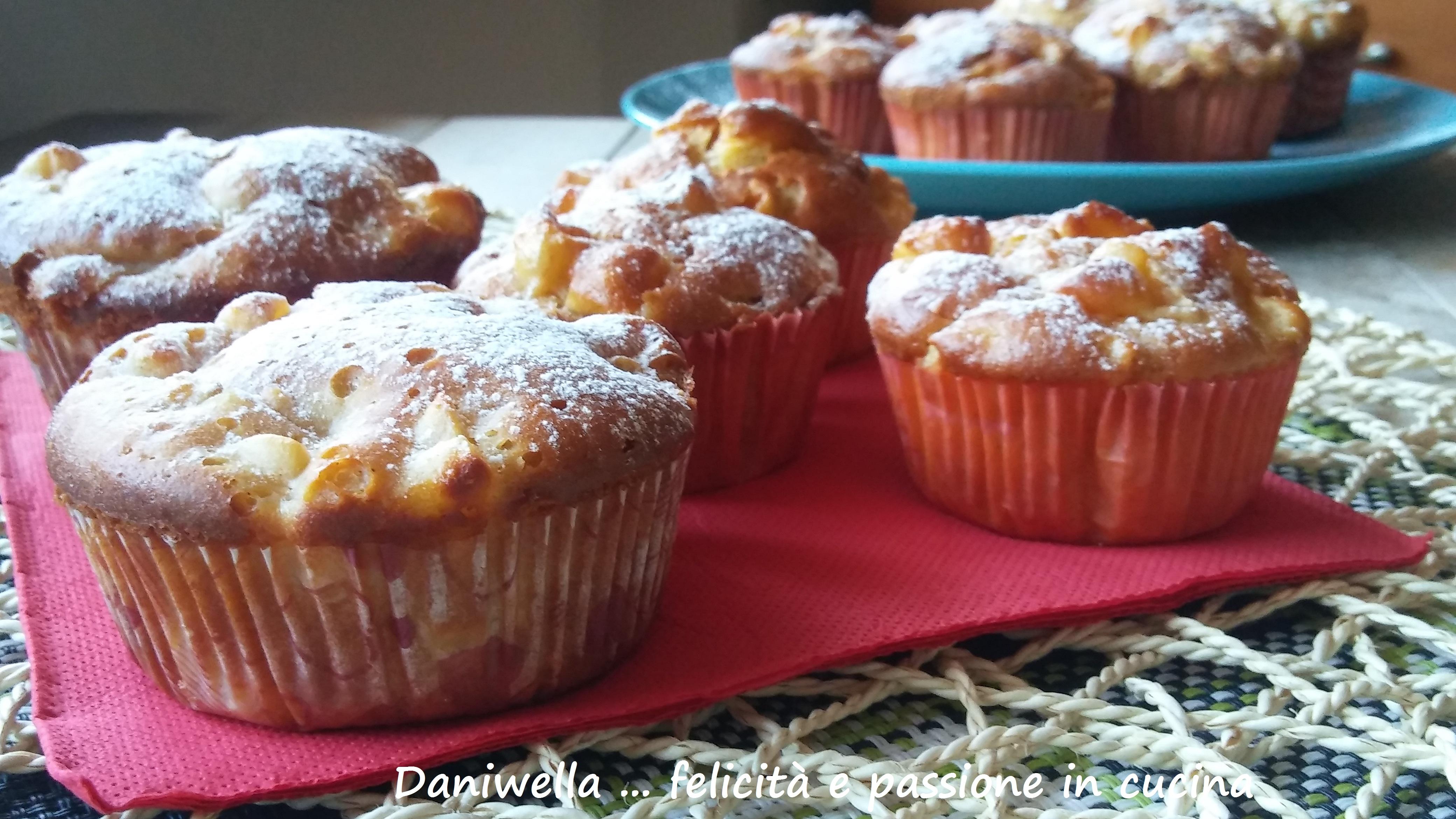 Lasciate raffreddare completamente prima di mangiarli e toglierli dai pirottini. Una volta freddi spolverate con lo zucchero a velo.