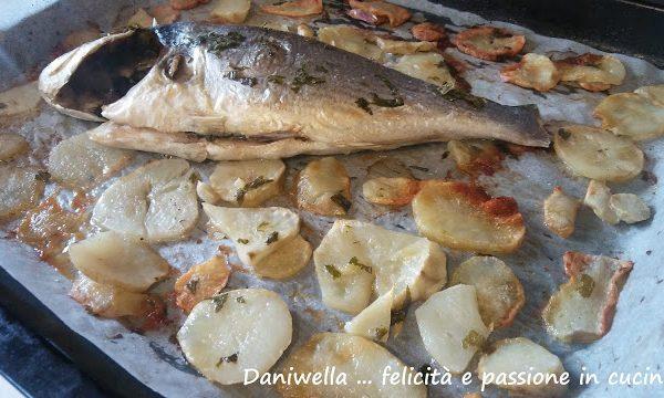 Controllate la cottura ed eventualmente prolungatela ancora fino a che il topinambur (o le patate patate) avranno un bel colore rosolato come in foto.